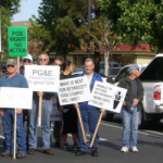 Retirees Picket PG&E Shareholder Meeting