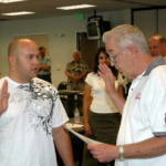 WILLIE LaBARBERA SWORN IN TO ADVISORY COUNCIL