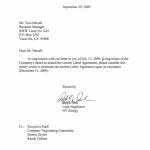 NV Energy Cancellation Letter