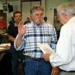 HARTY SWORN IN TO ADVISORY COUNCIL