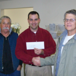 Redding Unit Donates Unit Fund to Feed the Needy