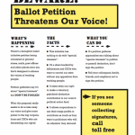 Don't Sign Calif. Ballot Petition