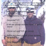 Golf Benefit for Weiss, Miles