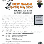 IBEW Clay Shoot: sign up now!
