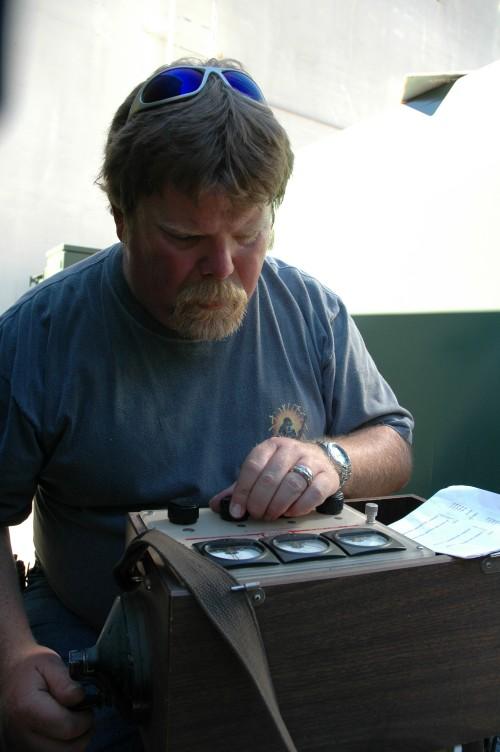 Electrical Maintenance Technician Greg Davis, Alameda Municipal Power 2006