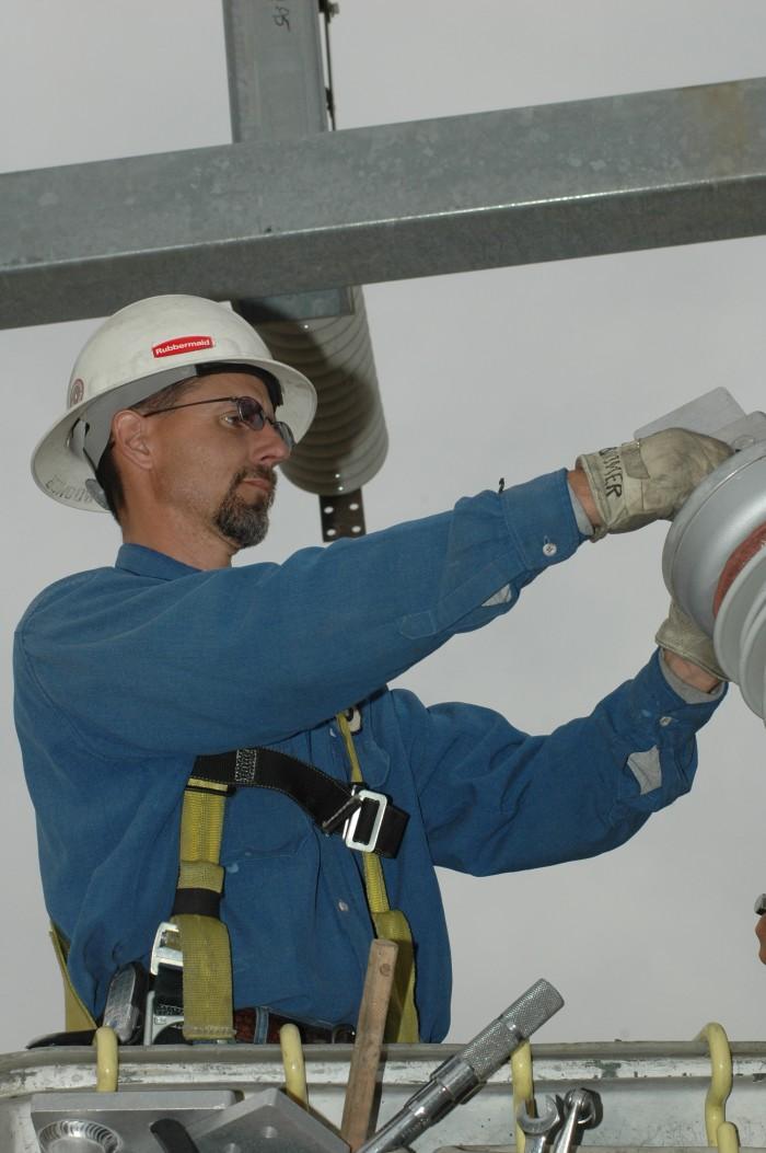Greg Lloyd, Substation Electrician, Modesto Irrigation District 2005