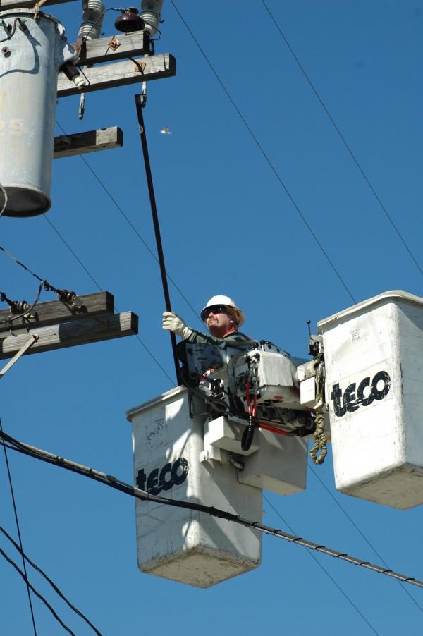 John Deschaine, Line Working Supervisor, Alameda Municipal Power 2006