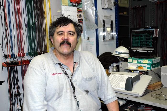 John Mancebo, Tool Clerk, PG&E Diablo Canyon 2008