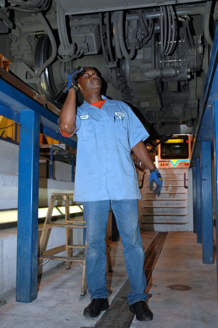 Kenneth Doran, C Mechanic, Sacramento Regional Transit 2007