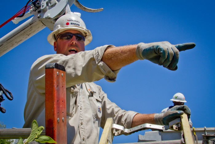 Kyle Martin, Foreman, Sacramento Municipal Utility District 2013