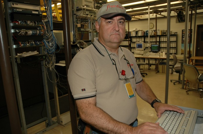 Terry Lewis, Transmission Tech, Frontier 2005