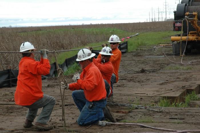 Tim Tweeter, Dick Bannon, Wilferd Jones, Mike Williamson, Wilson Construction 2011