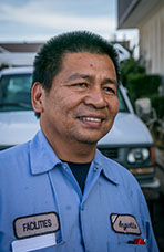 Angelito Tabin, Building Maintenance, City of Lompoc