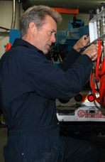 Chris Chapman, Equipment Mechanic, Pacific Gas & Electric