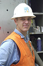 Chris Garrett, App. Fitter, Pacific Gas & Electric