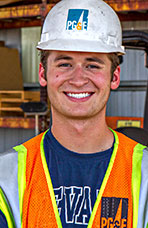 Colby Givens, Materials Handler, Pacific Gas & Electric