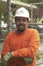 Dallas Nelson, Utility Worker, Pacific Gas & Electric