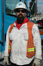 Dane Moore, Electric Crew Foreman, Pacific Gas & Electric