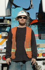 Daniel Silverstrom, Apprentice Lineman, Pacific Gas & Electric