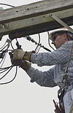Dean House, Lineman, Pacific Gas & Electric