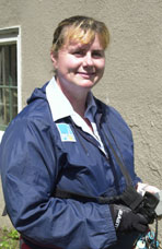 Deanne Drysdale, Meter Reader, Pacific Gas & Electric