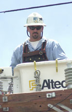 Don Smith, Lineman, Pacific Gas & Electric