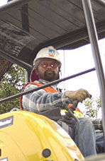 Floro Idio, Backhoe Operator, Pacific Gas & Electric