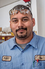 Gus Vargas, Heavy Equipment Operator, City of Lompoc