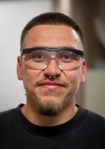 Lupe Alvarez, Fabricator/welder, Borden Lighting