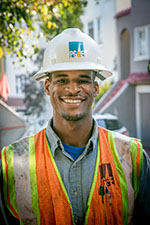 Jesse Cottonham, Apprentice Fitter, Pacific Gas & Electric