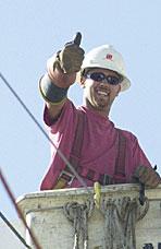 Jesse Langslet, Lineman, International Line Builders
