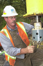 Jim Conroy, Gas Mechanic, Pacific Gas &Electric