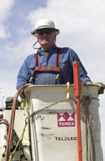 Joe Kleffman, Lineman, Sierra Pacific Power