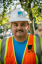 Jose Perez, Equipment Operator, Pacific Gas & Electric