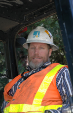 Ken Power, Backhoe, Pacific Gas & Electric