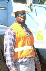 Marcos Luna, Apprentice Lineman, Pacific Gas & Electric