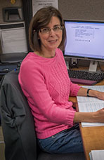 Margie Haman, Accounting Tech, City of Lompoc