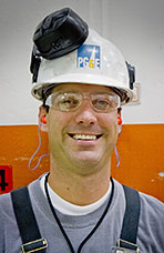 Matt Tolley, Machinist, Pacific Gas & Electric