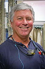 Mike Mount, Telecom Crew Foreman, Pacific Gas & Electric
