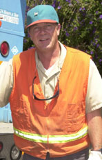 Mike Swain, Gas Crew Foreman, Pacific Gas & Electric