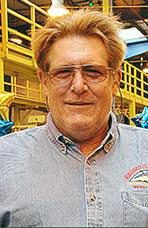 Rich Hartman, Light Rail Vehicle Tech, Sacramento Regional Transit