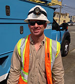 Rob Rapich, Troubleman, Pacific Gas & Electric
