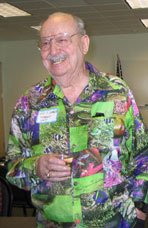 Ron Weakley, at grand opening of Weakley Hall in 2003