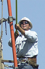 Roy Dodgion, Lineman, City of Lodi