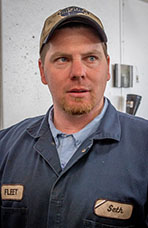 Seth Cannaday, Heavy Equipment Mechanic, City of Lompoc