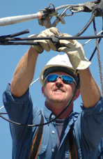 Shawn Cunningham, Lineman, Sierra Pacific Power