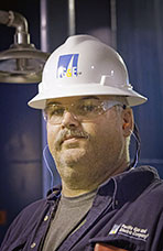 Shawn Ryan, Traveling Machinist, Pacific Gas & Electric