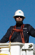 Ty Wyatt, Apprentice Lineman, Pacific Gas & Electric