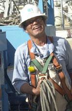Vicenti Warren, Electrician, Pacific Gas & Electric