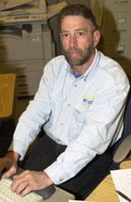Walt LeBaron, Foreman's Clerk, Pacific Gas & Electric